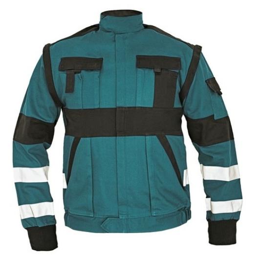 Max Reflex kabát 2/1 zöld/fekete