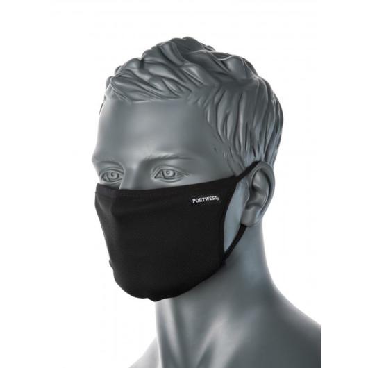 CV33 - 3 rétegű anti-mikrobiális textil arcmaszk
