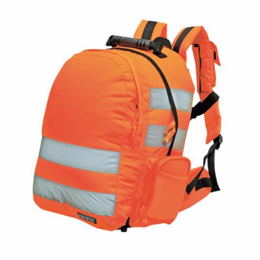 B904 Jól láthatósági hátizsák, gyorskioldóval