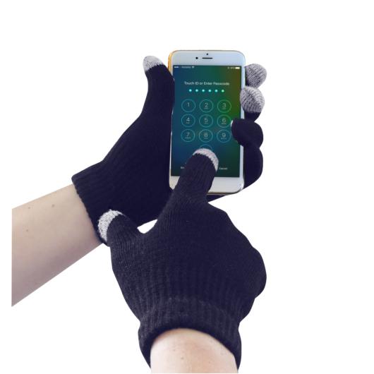 GL16N Touchscreen kötött kesztyű KÉK