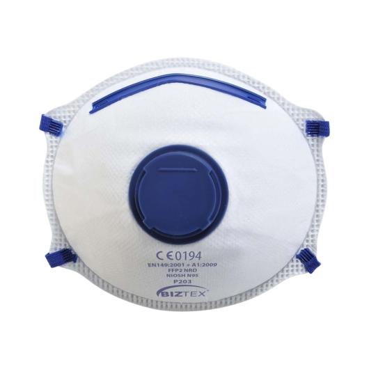 P203WHR FFP2 szelepes Dolomit légzésvédő maszk