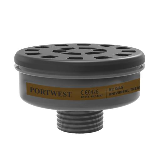 P906BKR P906 - A2 Gas Filter Uni Tread  (6 db)