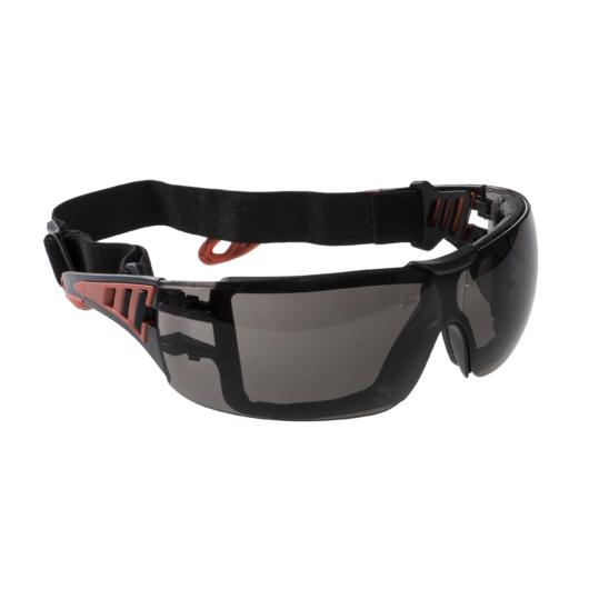 PS11SKR Tech Look Plus gumipántos védőszemüveg