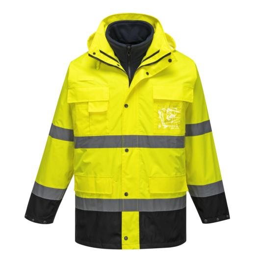 S162 Hi-Vis Lite 3 az 1-ben kabát