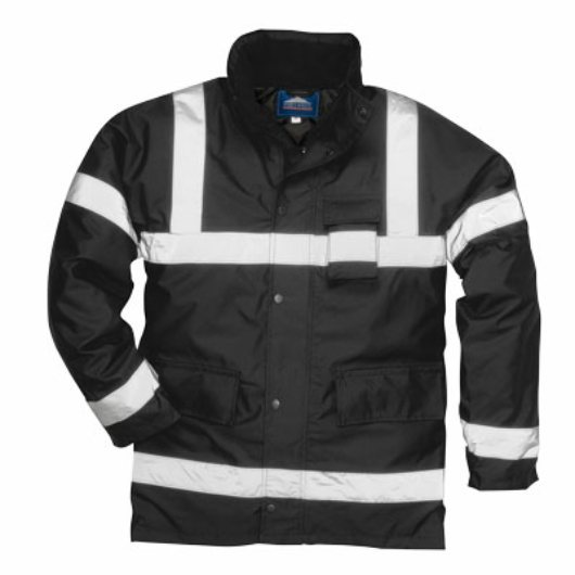S433B Iona Lite kabát FEKETE
