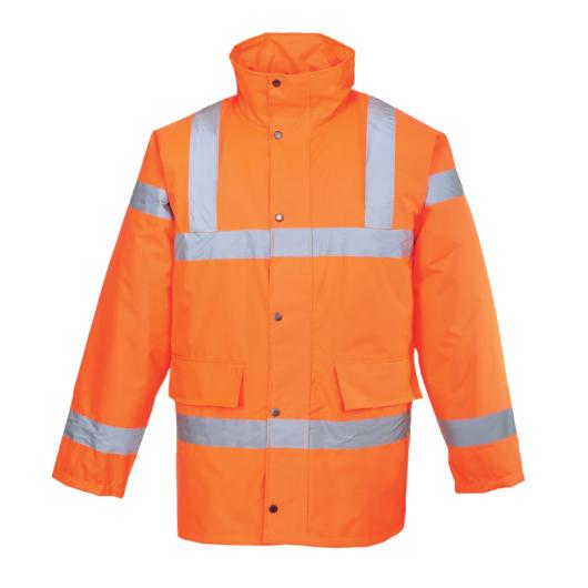 S460O Jól láthatósági kabát NARANCS