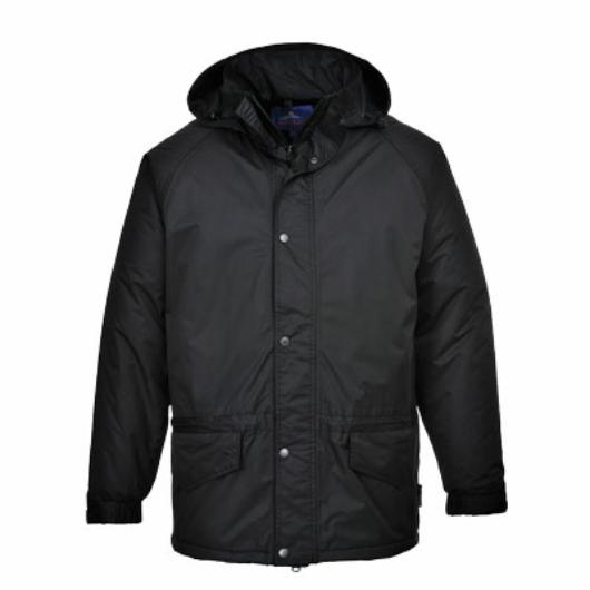 S530B Arbroath lélegző polár béléses kabát FEKETE