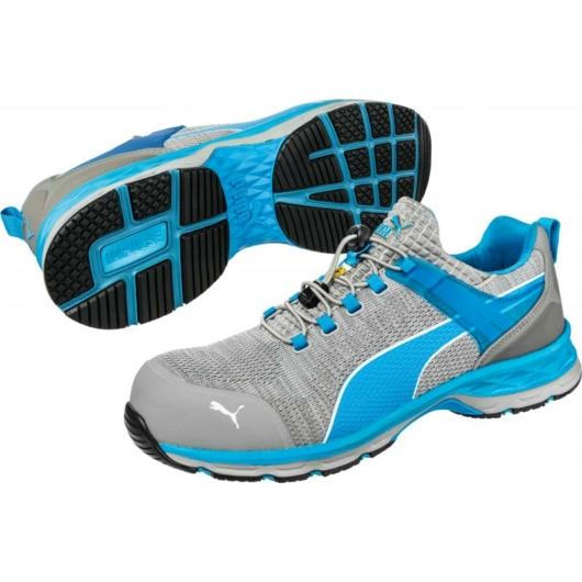 643860 Puma XCite Grey Low S1P ESD HRO SRC munkavédelmi cipő