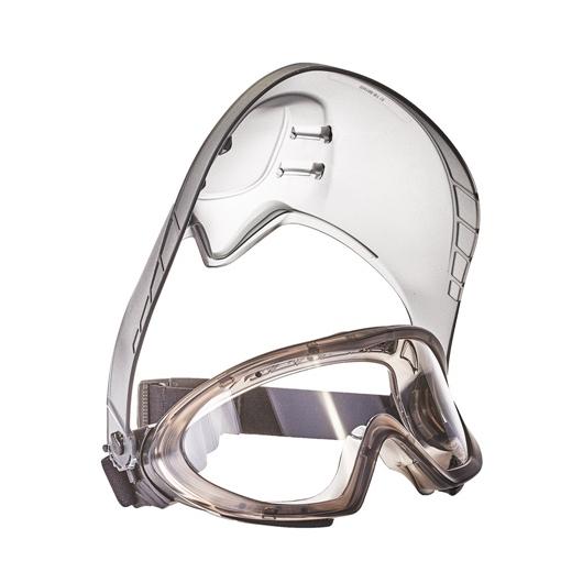 STORMLUX védőszemüveg arcvédővel